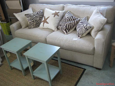 image - Modern Sofa Covers in Natural Linen