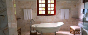 Featured image of how to select tile for your bathroom