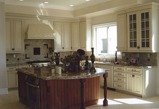 Pic of French Country Styled Kitchen - French Country Interior Design, French Country Decorating Ideas on a Budget