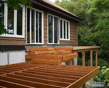 Featured of Deck Framing: How to Determine Deck Framing Lumber Sizes