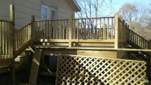 Alternatives to Lattice for Deck Skirting Under a Deck or Porch