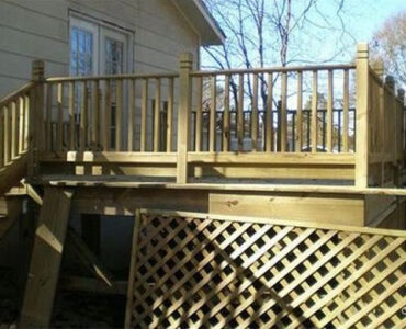 Featured image of Alternatives to Lattice Under Deck or Porch for Deck Skirting Ideas