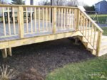 Quick and Easy DIY Pressure Treated Wood Deck Skirting Ideas in 4 Days, Hide Space Under Deck