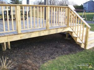 Quick and Easy DIY Pressure Treated Deck Skirting Ideas in 4 Days, Hide Space Under Deck