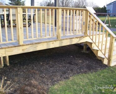 Featured DIY Pressure Treated Wood Deck Skirting Ideas