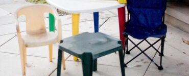 featured image - fitted card table cover