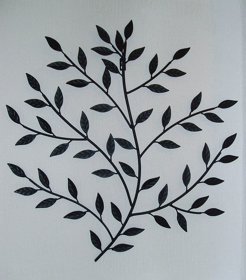 Pic of Homemade Wall Decoration Ideas with Metal and Rod-iron