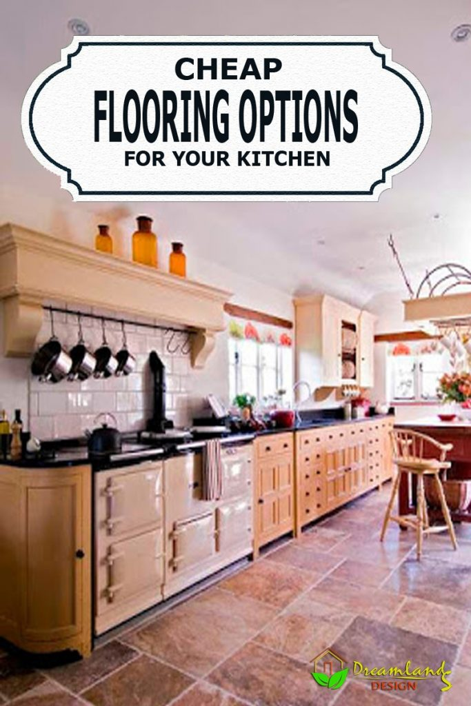 Pic of Cheap Flooring Options for Kitchen, Giving Your Kitchen a New Look