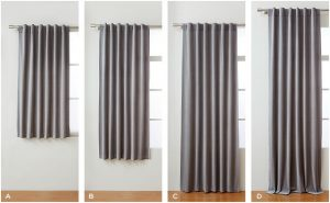 Pic of Go for Full-Length Curtains (How to Renovate a House with No Money)