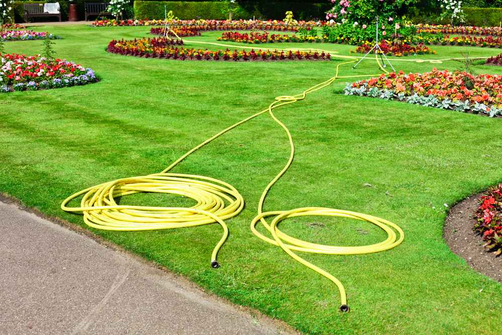 Garden Hose - Lawn Maintenance Tips