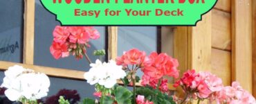 Featured of How to Build a Wooden Planter Box Easy