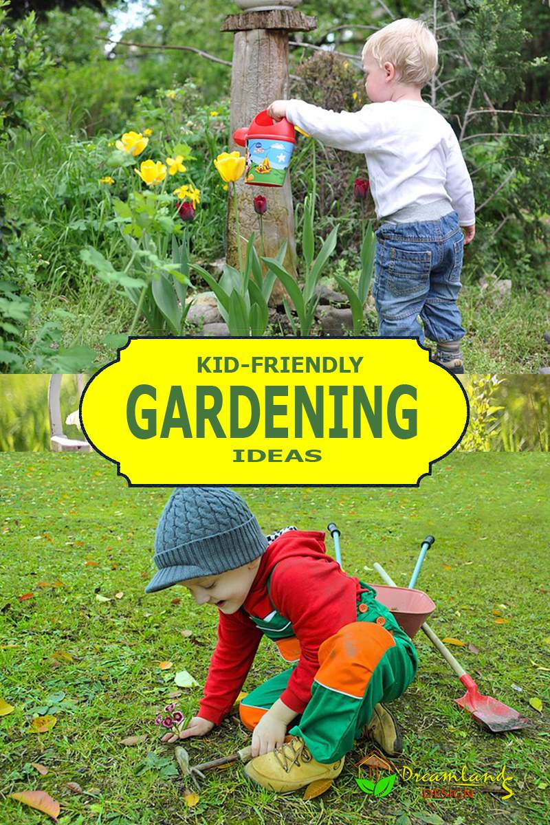 Gardening Ideas For Kids Make Your Kid Fall In Love With