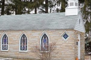 Pic of Stone Church - Church to Home Conversion