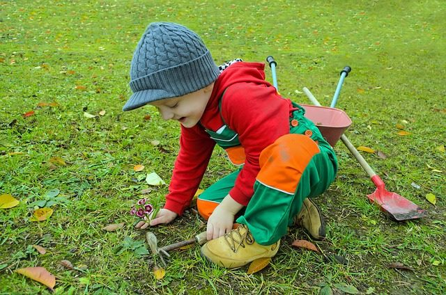Pic of Show Them the Practical Side - (Gardening Ideas for Kids)