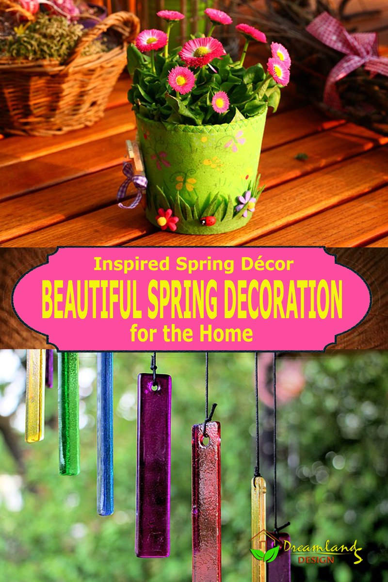 Inspired Spring Décor (Beautiful Spring Decorations for the Home)