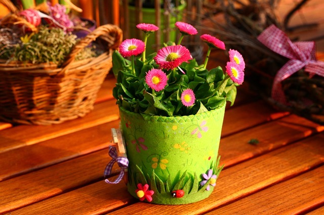 Pic of the flowers: Beautiful Spring Decorations for the Home