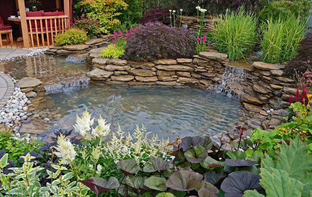 IMG - Key Steps on How To Prepare The Land For a Beautiful Backyard Water Features