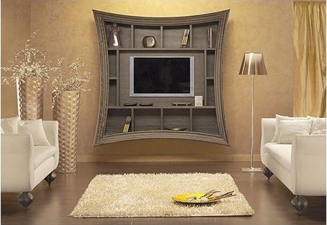 TV Frame (Ideas for Decorating around a Flat Screen TV)