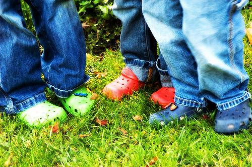Create a No-Shoe Policy in Your Home - Prevent Kids from Tracking in Outdoor Allergens