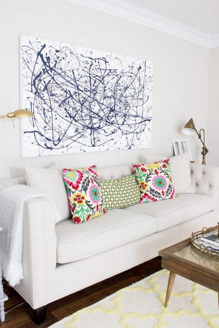 DIY No Sew Throw Pillow (Easy DIY Projects for Spring)