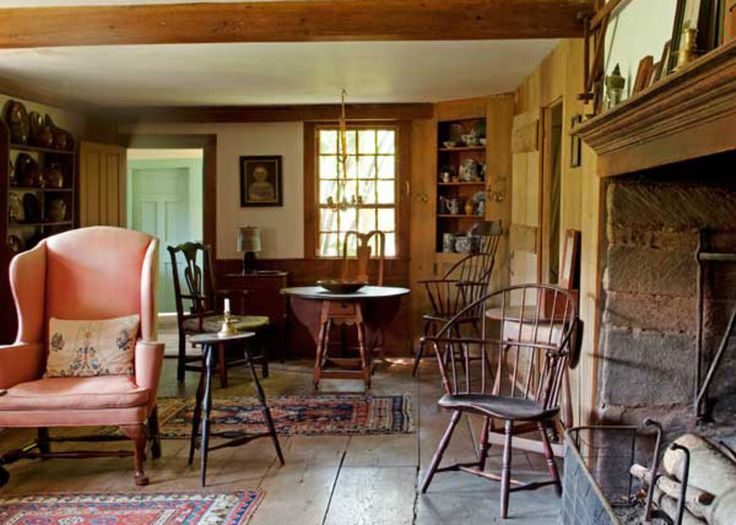 Early American Home Decor, Furnishing and Inspiration