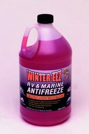 RV and Marine anti-freeze liquid - How to Properly Close Up a Seasonal Home