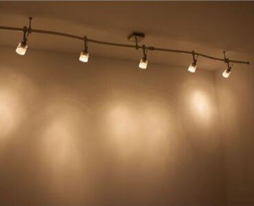 Featured of DIY track lighting installation, A Track Lighting Installation Puts Light Where You Want It