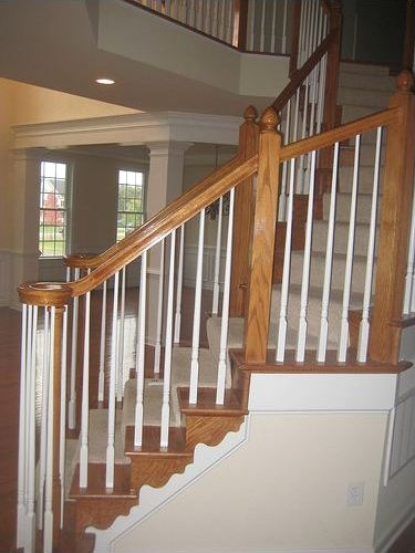 Baustrade Newels - Newel Post Installation for a Staircase Balustrade