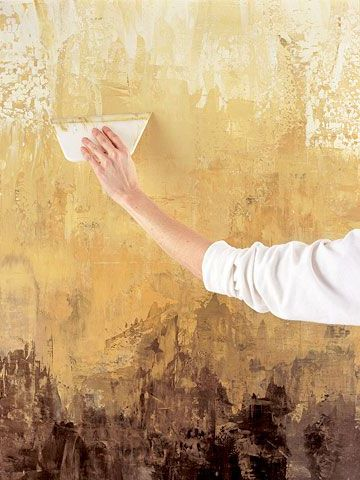 Using the Venetian Plaster Finish Technique