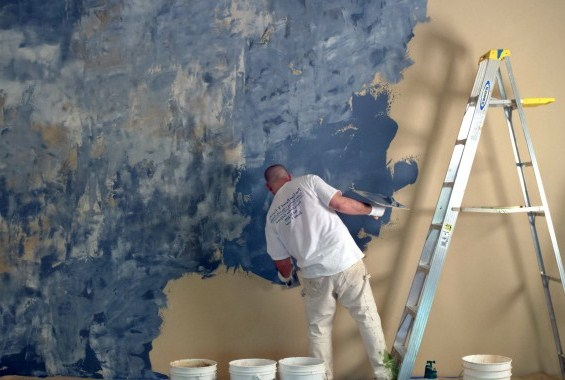 How to do Venetian Plaster Finish