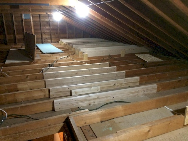 Step by step guide on how to build attic flooring on joists solutioingenieria Images