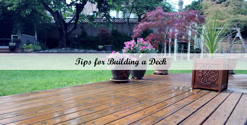 Tips for Building a Deck