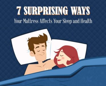 Featured of [Infographic] 7 Surprising Ways Your Mattress Affects Your Sleep and Health