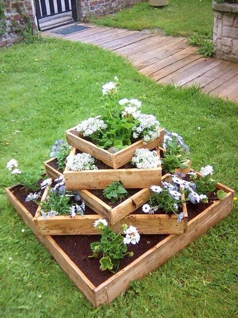 Multi Level Planters - Landscaping Tips to Maximise a Small Backyard