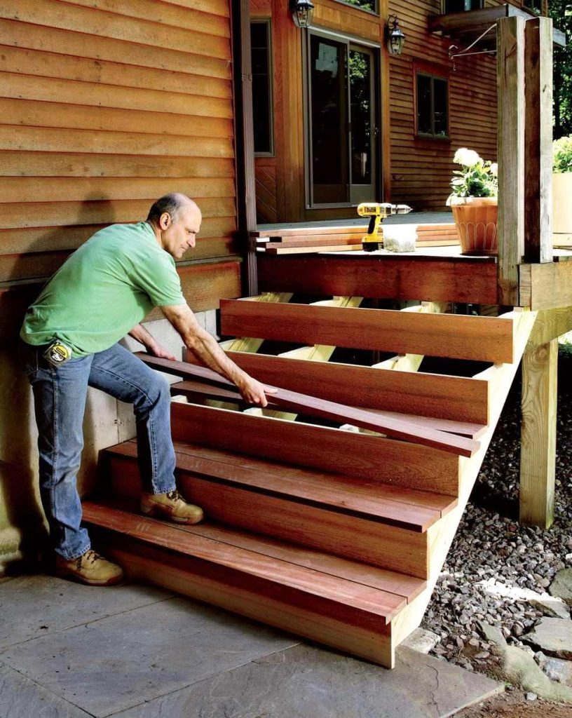 image - 3 Easy Steps to Build Stairs via Popular Mechanics