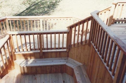 image - A Guide to Stair Landings: Stairs with Landings via MyCarpentry.com