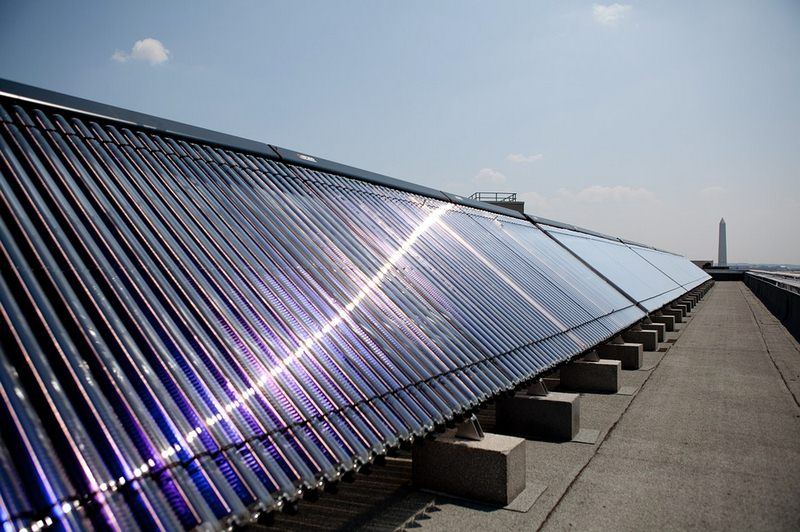 Solar Water Heaters Help Mitigate Air Pollution