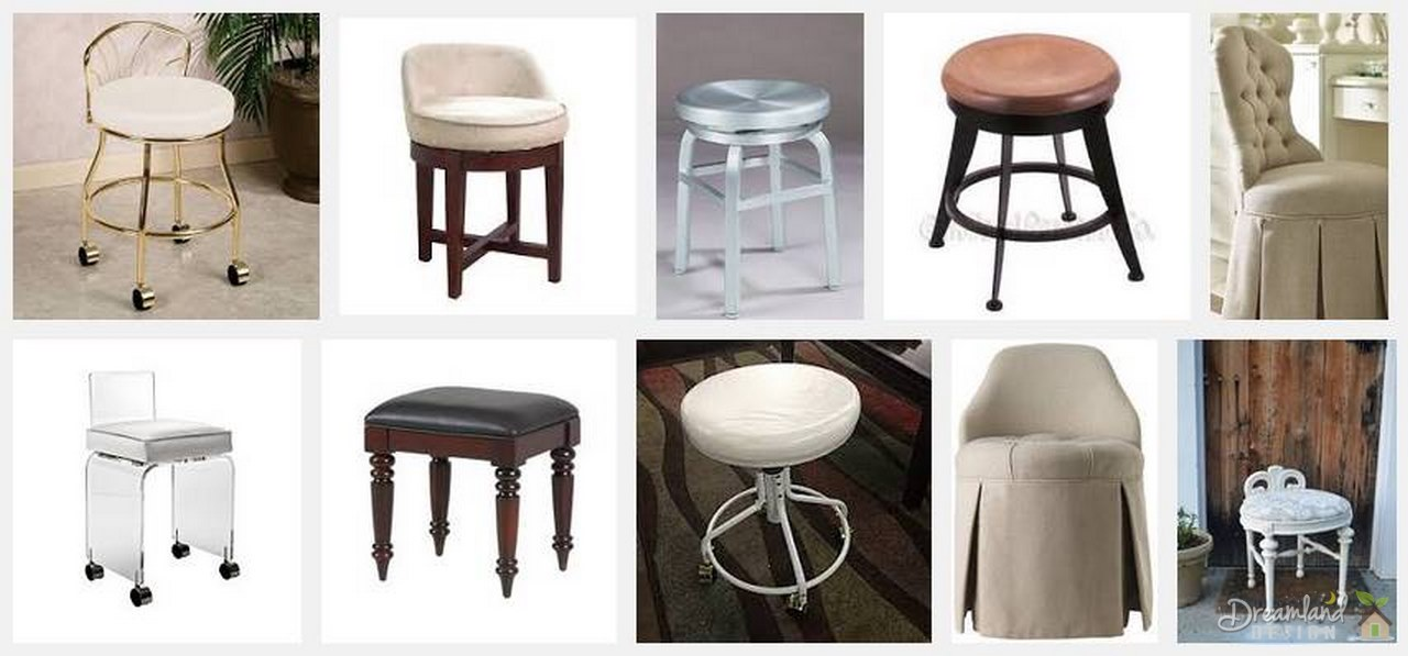 image - Add Extra Seating to Any Room with a Swivel Vanity Stool