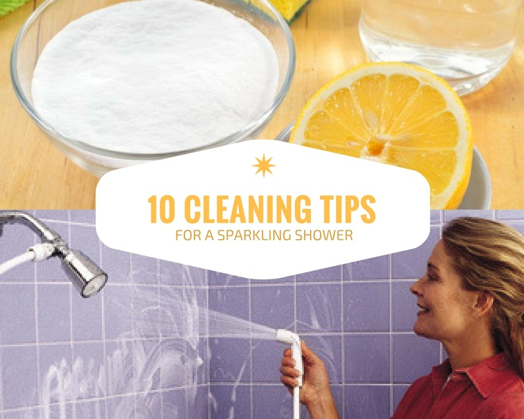 10 Cleaning Tips for a Sparkling Shower