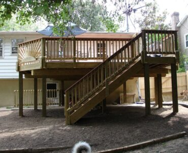 Featured of DIY Deck Stairs: Step-by-step Directions for Deck Stairs Handrails