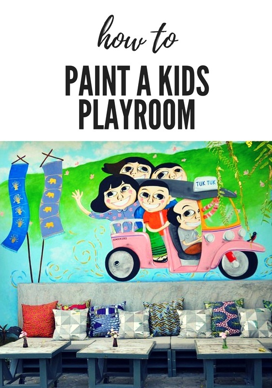 How to Paint a Kids Playroom