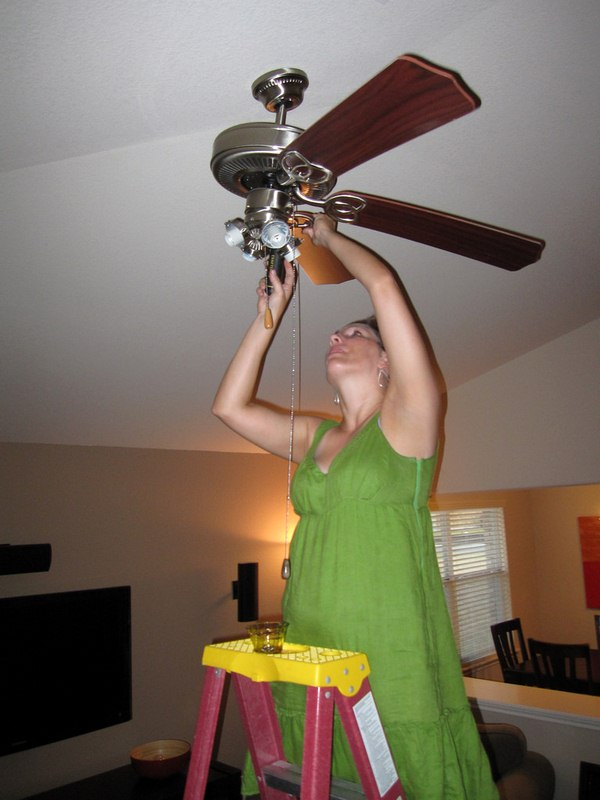 DIY Home Makeover, Install a Ceiling Fan