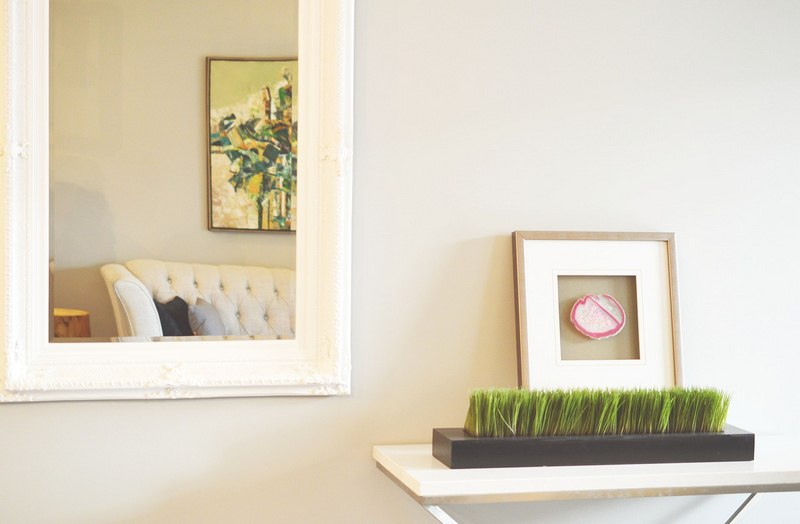 Put a New Mirror in the Home - DIY Home Makeover