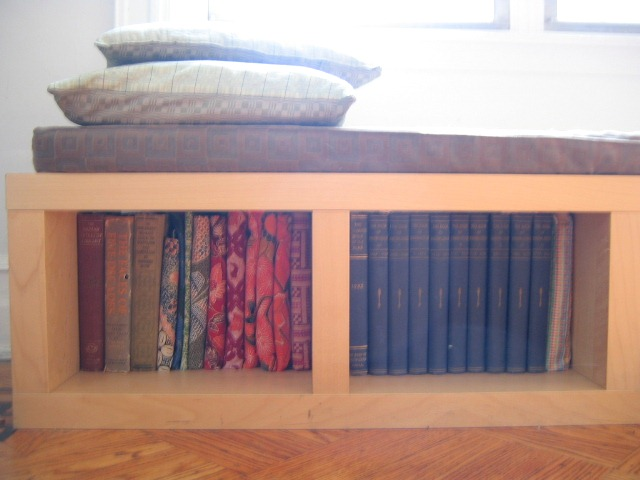 Bookshelf bench - How to Make Bench Cushions in 3 Easy Steps