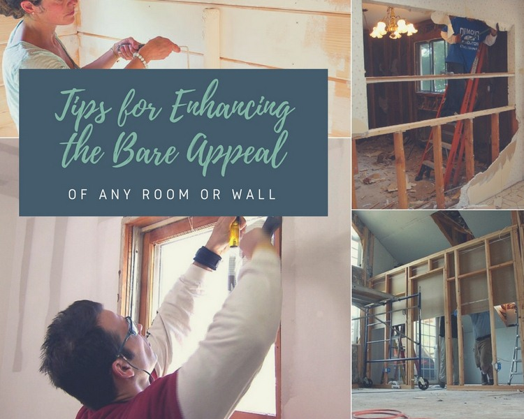 Tips for Enhancing the Bare Appeal of Any Room or Wall