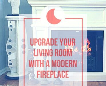 Featured of Upgrade Your Living Room with a Modern Fireplace
