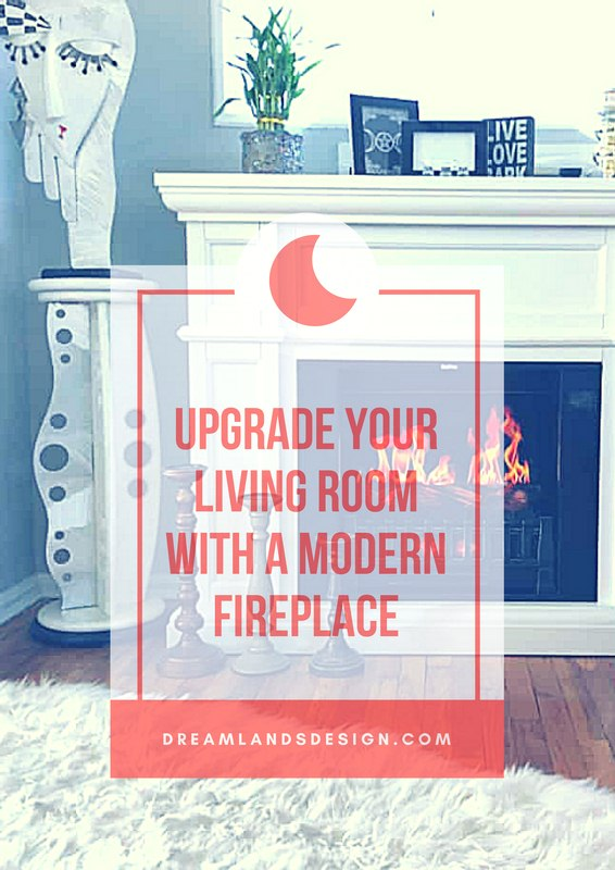 Upgrade Your Living Room with a Modern Fireplace