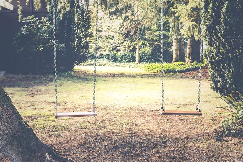 Swing Sets - 7 Ways to Get Rid of Your Boring, Barren Backyard