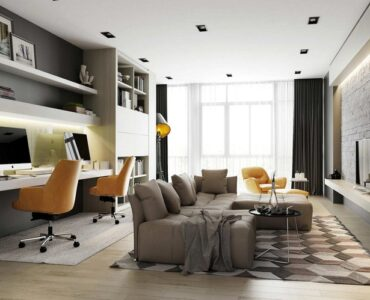 Featured of 5 Ways to Bring Office in Your Living Room