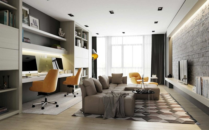 Work From the Comfort of Your House: 5 Ways to Bring Office in Your Living Room